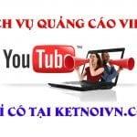 Dịch vụ quảng cáo video Youtube giá rẻ.