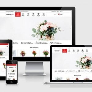 Theme Wordpress Shop Hoa Dep Chuan Seo Anh Bia