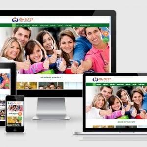 Theme Wordpress Website Giao Duc Chuan Seo Anh Bia