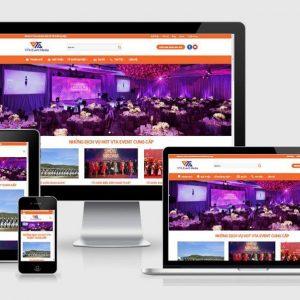 Theme Wordpress Mau Website Cong Ty To Chuc Su Kien
